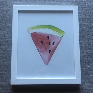 Urban Outfitters watermelon wall hanging
